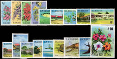 Barbuda 1974-75 set unmounted mint.