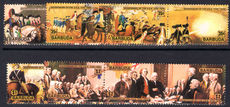 Barbuda 1976 American Revolution set unmounted mint.
