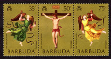 Barbuda 1970 Easter Paintings unmounted mint.