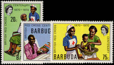 Barbuda 1970 Red Cross unmounted mint.