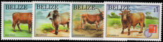 Belize 1997 Year of the Ox unmounted mint.