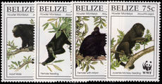Belize 1997 Howler Monkey unmounted mint.