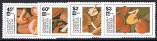 Dominica 1987 Fungi unmounted mint.
