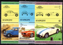St Vincent 1985 Cars (3rd issue) unmounted mint.