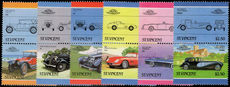 St Vincent 1986 Cars (5th issue) unmounted mint.