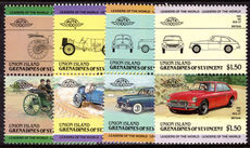 Union Island 1985 Automobiles (2nd series) unmounted mint.