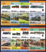 Union Island 1984 Railway Locomotives (2nd series) unmounted mint.