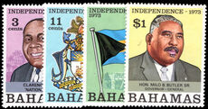 Bahamas 1973 Independence unmounted mint.