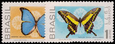 Brazil 1971 Butterflies unmounted mint.