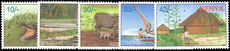 Kenya 1997 Local Tourist Attractions unmounted mint.