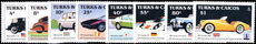 Turks & Caicos Islands 1984 Classic Cars unmounted mint.