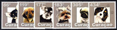 Curacao 2015 Dogs unmounted mint.