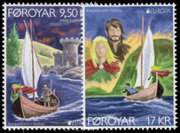 Faroe Islands 2017 Castles and Palaces unmounted mint.