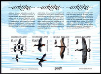 Finland 2017 Migratory Birds of the Arctic souvenir sheet unmounted mint.