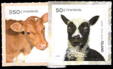 Iceland 2018 Baby Animals unmounted mint.