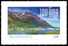 Iceland 2018 100 years city Siglufjorour unmounted mint.