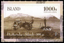 Iceland 2018 100 years of tractors in Iceland unmounted mint.