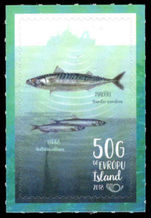 Iceland 2018 Fish unmounted mint.