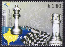 Kosovo 2016 Chess unmounted mint.