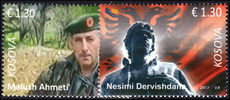 Kosovo 2017 Freedom Fighters unmounted mint.