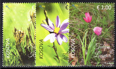 Kosovo 2017 Endemic Plants unmounted mint.