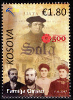 Kosovo 2017 Reformation unmounted mint.