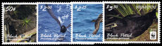 Niuafo'ou 2016 Black Petrel singles unmounted mint.