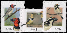 Namibia 2017 Birds unmounted mint.