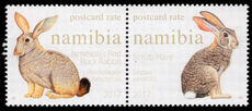 Namibia 2017 Rabbits unmounted mint.