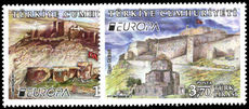 Turkey 2017 Europa: castles and palaces unmounted mint.