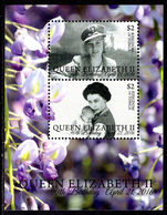 Tonga 2016 90th birthday of Queen Elizabeth II souvenir sheet unmounted mint.