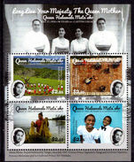 Tonga 2016 90th birthday of Queen Mother Halaevalu Mata'aho souvenir sheet unmounted mint.