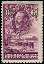 Bechuanaland 1932 6d purple mounted mint.