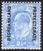 Bechuanaland 1904-13 2 ½d ultramarine mounted mint.