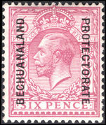 Bechuanaland 1913-24 6d reddish purple mounted mint.