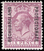 Bechuanaland 1925-27 6d purple ordinary paper mounted mint.