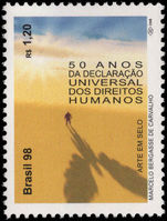 Brazil 1998 Human Rights unmounted mint.