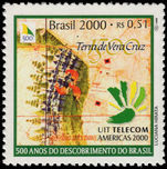 Brazil 2000 Discovery of Brazil 5th issue unmounted mint.