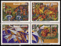 Brazil 2000 Discovery of Brazil 6th issue unmounted mint.