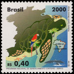 Brazil 2000 Coastal Management unmounted mint.
