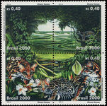 Brazil 2000 Environmental Protection unmounted mint.
