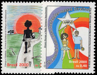 Brazil 2000 Children and Teenager Statute unmounted mint.