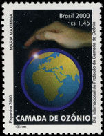 Brazil 2000 Protection of the Ozone Layer unmounted mint.