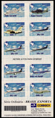 Brazil 2000 Brazilian Aircraft unmounted mint.