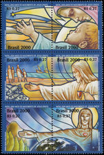 Brazil 2000 Christmas unmounted mint.