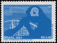 Brazil 2001 Scientific Development unmounted mint.
