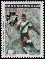 Brazil 2001 Vasco da Gama Football Club unmounted mint.