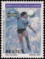 Brazil 2001 Gremio Football Club unmounted mint.