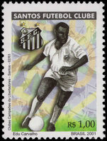 Brazil 2001 Sao Paulo Football Club unmounted mint.