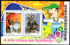 Brazil 2006 Urban Art souvenir sheet unmounted mint.